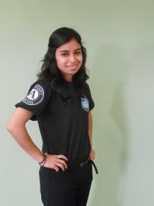 LC member Daniela Martinez