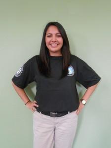 LC member Sarah Garza