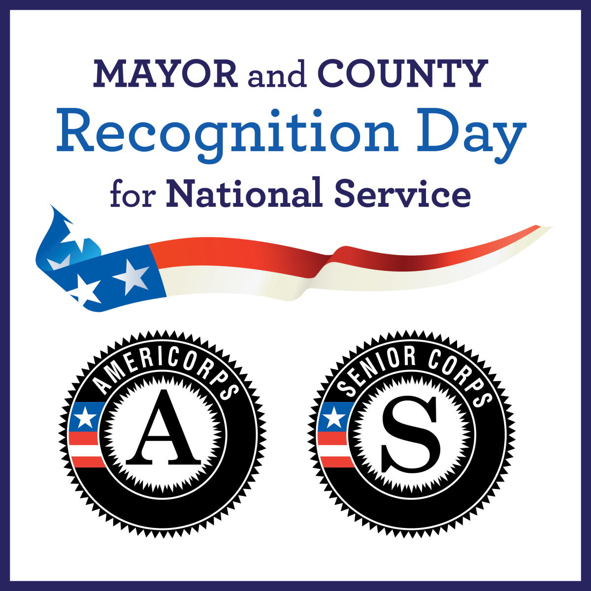 Mayor & County Day of Recognition for National Service