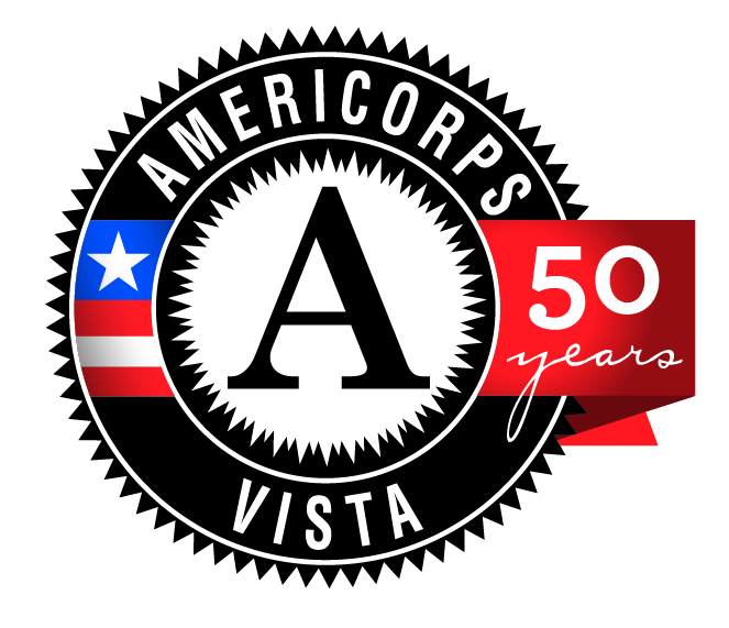 vista 50th logo round