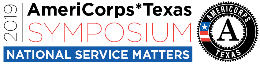2019 AmeriCorps*Texas Symposium logo