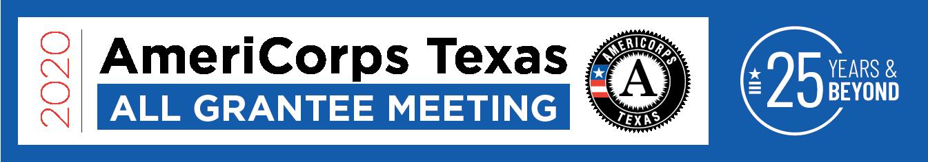 2020 AmeriCorps Texas All Grantee Meeting logo
