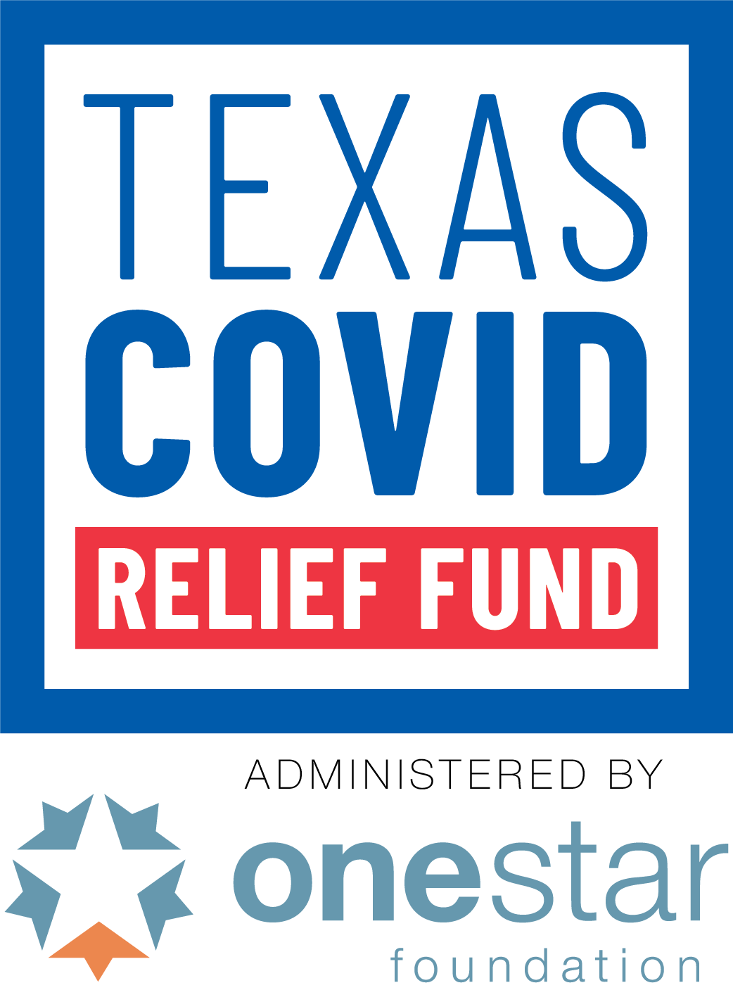 Texas COVID Relief Fund logo