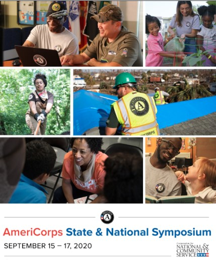 AmeriCorps State & National Symposium | September 15-17, 2020 | Corporation for National & Community Service